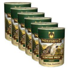 WOLFSBLUT Hunters Pride konzerv, 6 x 395 g