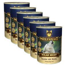 WOLFSBLUT Polar Night konzerv, 6 x 395 g
