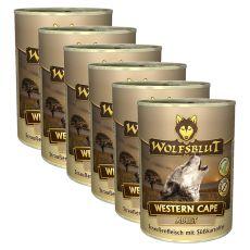 WOLFSBLUT Western Cape konzerv, 6 x 395 g