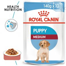 Royal Canin Medium Puppy alutasak 140 g