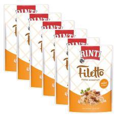 RINTI Filetto alutasak csirke + csirkeszívek, 6 x 100 g