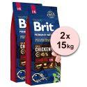 Brit Premium by Nature Senior Large és Extra Large 2 x 15 kg