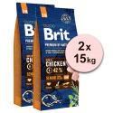 Brit Premium by Nature Senior Small és Medium 2 x 15 kg
