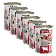 New BEWI DOG konzerv – Marhahús 6 x 400 g