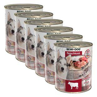 New BEWI DOG konzerv – Marhahús 6 x 800g, 5+1 GRÁTISZ