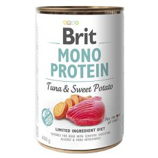 Brit Mono Protein Tuna & Sweet Potato konzerv, 400 g