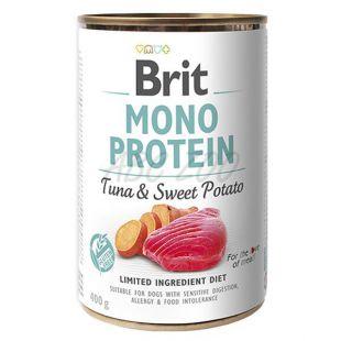 Brit Mono Protein Tuna & Sweet Potato konzerv, 400 g