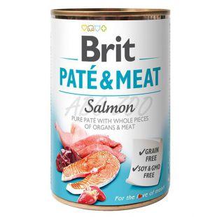 Brit Paté & Meat Salmon konzerv, 400 g