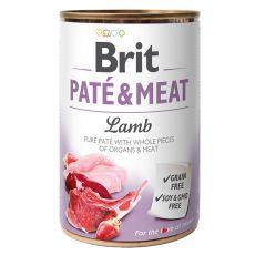 Brit Paté & Meat Lamb konzerv, 400 g