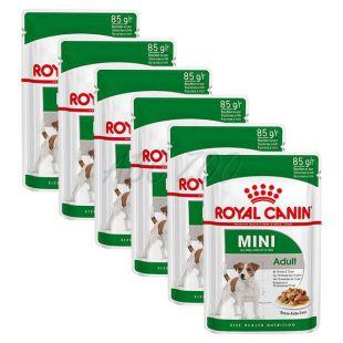 Royal Canin Mini Adult alutasak 6 x 85 g