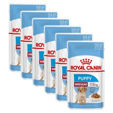 Royal Canin Medium Puppy alutasak 6 x 140 g