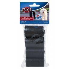 Tartalék hulladéktároló zacskó, fekete - 4 x 20 db