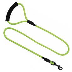 Kerek nejlon kutyapóráz zöld, L - 120 cm