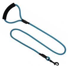 Kerek nejlon kutyapóráz kék, L - 120 cm