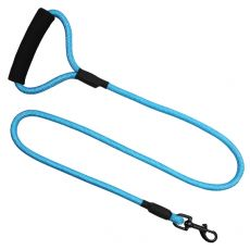 Kerek nejlon kutyapóráz kék, XL - 120 cm