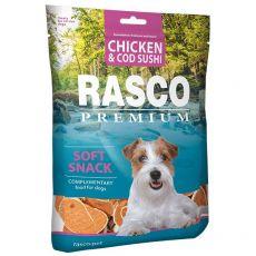 RASCO PREMIUM sushi tőkehalból és csirkéből 80 g