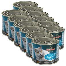 Konzerv cicák részére Leonardo - Hal 12 x 200g