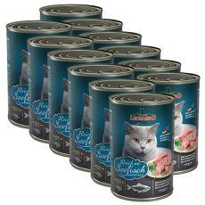 Konzerv cicáknak Leonardo - Hal 12 x 400g
