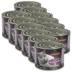 Nyúlhúsos konzerv macskának Leonardo - 12 x 200g