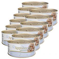 Applaws Cat - konzerv macskáknak tonhallal és sajttal, 12 x 70g