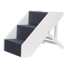 Kisállat lépcső Pet Stairs 40 x 67 cm, fehér