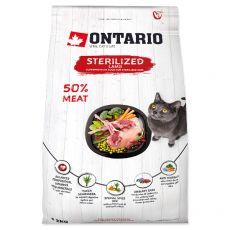 Ontario Cat Sterilised Lamb 2 kg