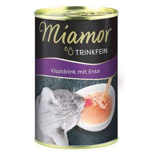 Miamor Vitaldrink macskáknak, kacsa ízű 135 ml