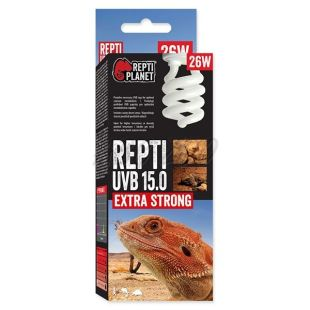 REPTI PLANET Repti UVB 15.0 Extra Strong izzó 26W