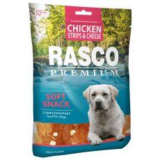 RASCO PREMIUM csirke karikák sajttal  80 g