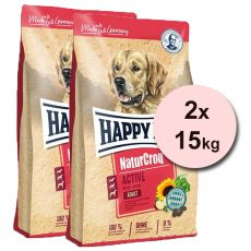 Happy Dog Naturcroq Active 2 x 15 kg