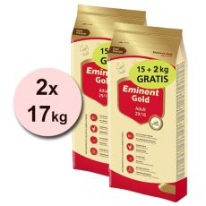 EMINENT GOLD Adult 2 x 15 kg + 4 kg GRÁTISZ