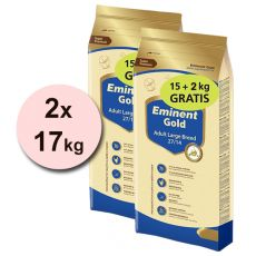 EMINENT GOLD Adult Large Breed 2 x 15 kg + 4 kg GRÁTISZ