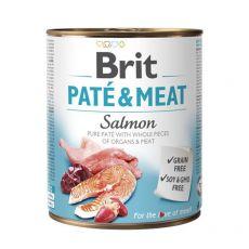 Brit Paté & Meat Salmon konzerv, 800 g