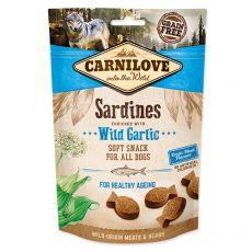 Carnilove Dog Semi Moist Snack Sardines enriched with Wild Garlic 200 g