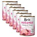 Brit Paté & Meat PUPPY konzerv 6 x 800 g