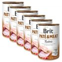 Brit Paté & Meat Rabbit konzerv 6 x 400 g