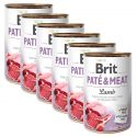 Brit Paté & Meat Lamb konzerv 6 x 400 g