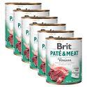 Brit Paté & Meat Venison konzerv 6 x 800 g