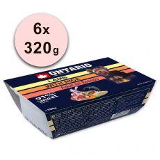 ONTARIO húsos tálca Lamb with Rice - 6 x 320g