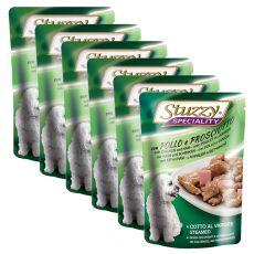 Stuzzy Speciality Dog - csirkehús sonkával, 6 x 100 g