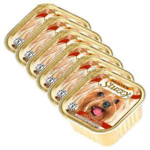 Alutálka Mister STUZZY Dog - nyúlhús, 6 x 150g