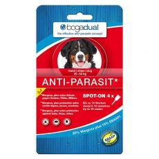 BOGADUAL paraziták elleni cseppek kutyáknak, 4 x 2,5 ml