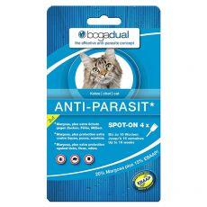 BOGADUAL paraziták elleni cseppek macskáknak, 4 x 0,75 ml