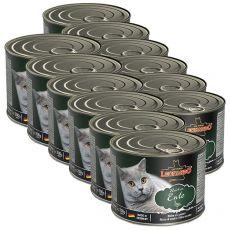Konzerv macskáknak Leonardo, kacsahús 12 x 200 g