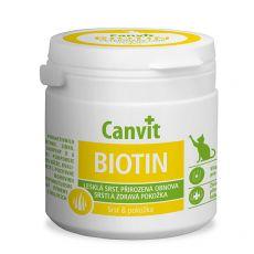 Canvit Biotin - étrendkiegészítő az egészséges és csillogó szőrért, 100g