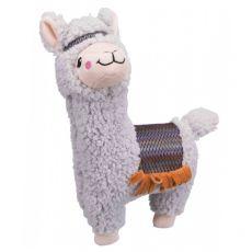Plüss játék kutyák számára - alpaka, 31 cm