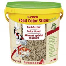 Sera pond color sticks Nature 10 L - táplálék
