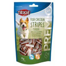 Trixie PREMIO Chicken Stripes, csirke és fekete tőkehal 75 g