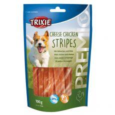 Trixie PREMIO Cheese Chicken Stripes, csirke és sajt 100 g