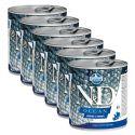 Farmina N&D dog Herring & Shrimps konzerv 6 x 285 g, 5+1 GRÁTISZ